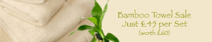 Bamboo Towel Sale
